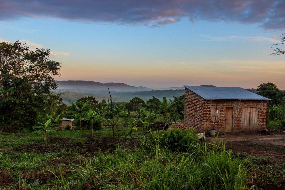 EXPERIENCE THE <BR> BREATHTAKING LANDSCAPE <BR> OF  RURAL UGANDA