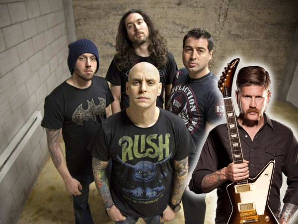 Bill Kelliher from Mastodon will be on the new album!