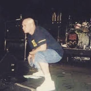 #tbt to @therealjasonrockman trying to take a dump mid song. #poop #live #gig #metal #tour