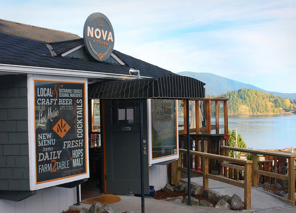 The Nova Kitchen in Gibsons.