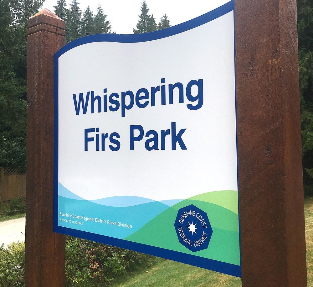 In 2016 the SCRD approached us to re-design a signage system for all the regional parks.