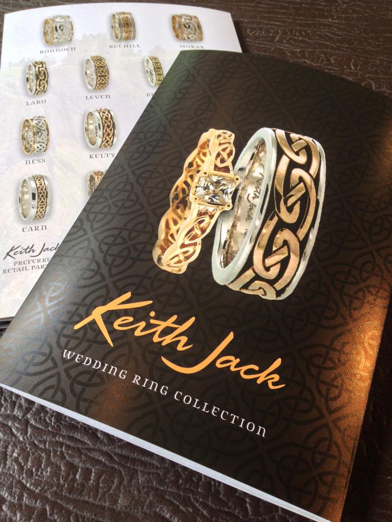 Product catalogue for Keith Jack… mmmmnnn… spot gloss varnish!