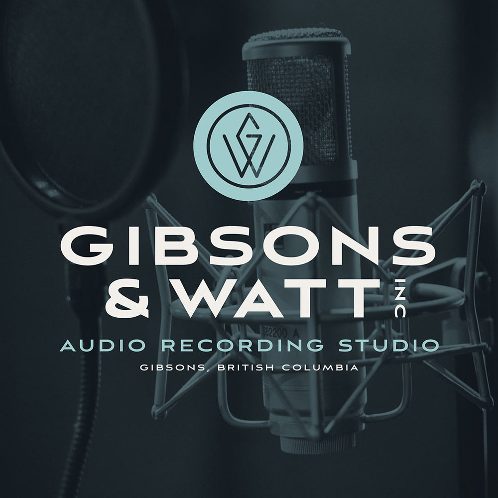 Gibsons & Watt logo in front of the inspiration for their new monogram/icon.
