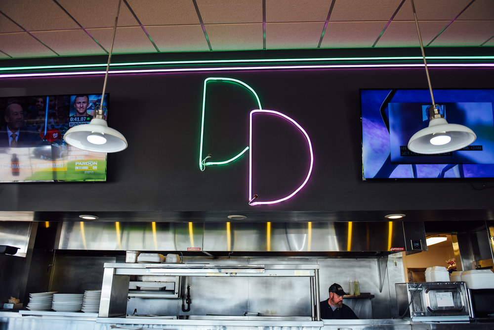 3 p.m.:The Denver Diner gets quiet around this time of day; only a few individuals sit at the bar.