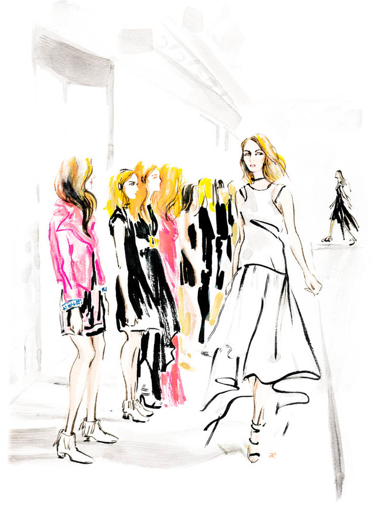 Illustrations by Lily Qian for The Assemblist