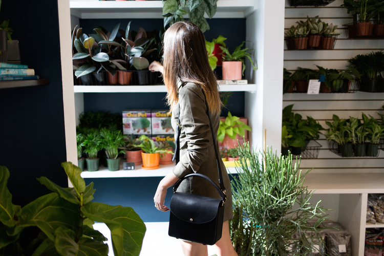 Visit The Style Line for a glimpse into Alyssa's plant-shopping and the first outfit she styled at the Brand Assembly Square!