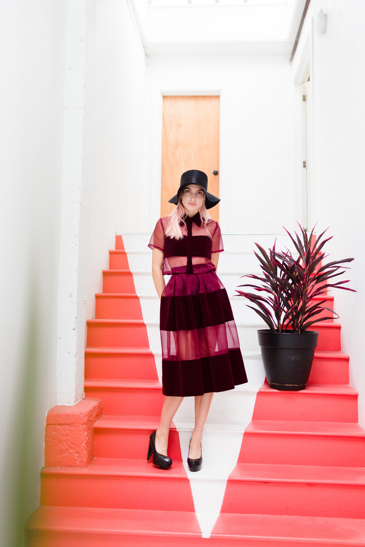 """""""I love the Vivian Chan Skirt and Top combination because you can go from the day to night seamlessly."""" - Tishka"""