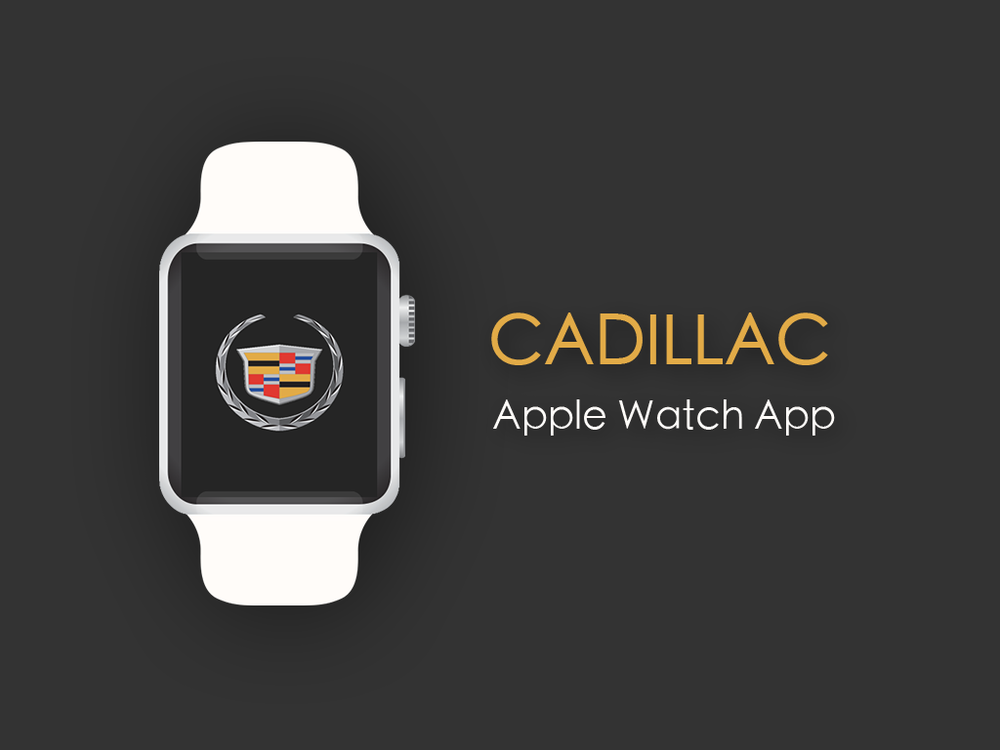 Cadillac Apple Watch App