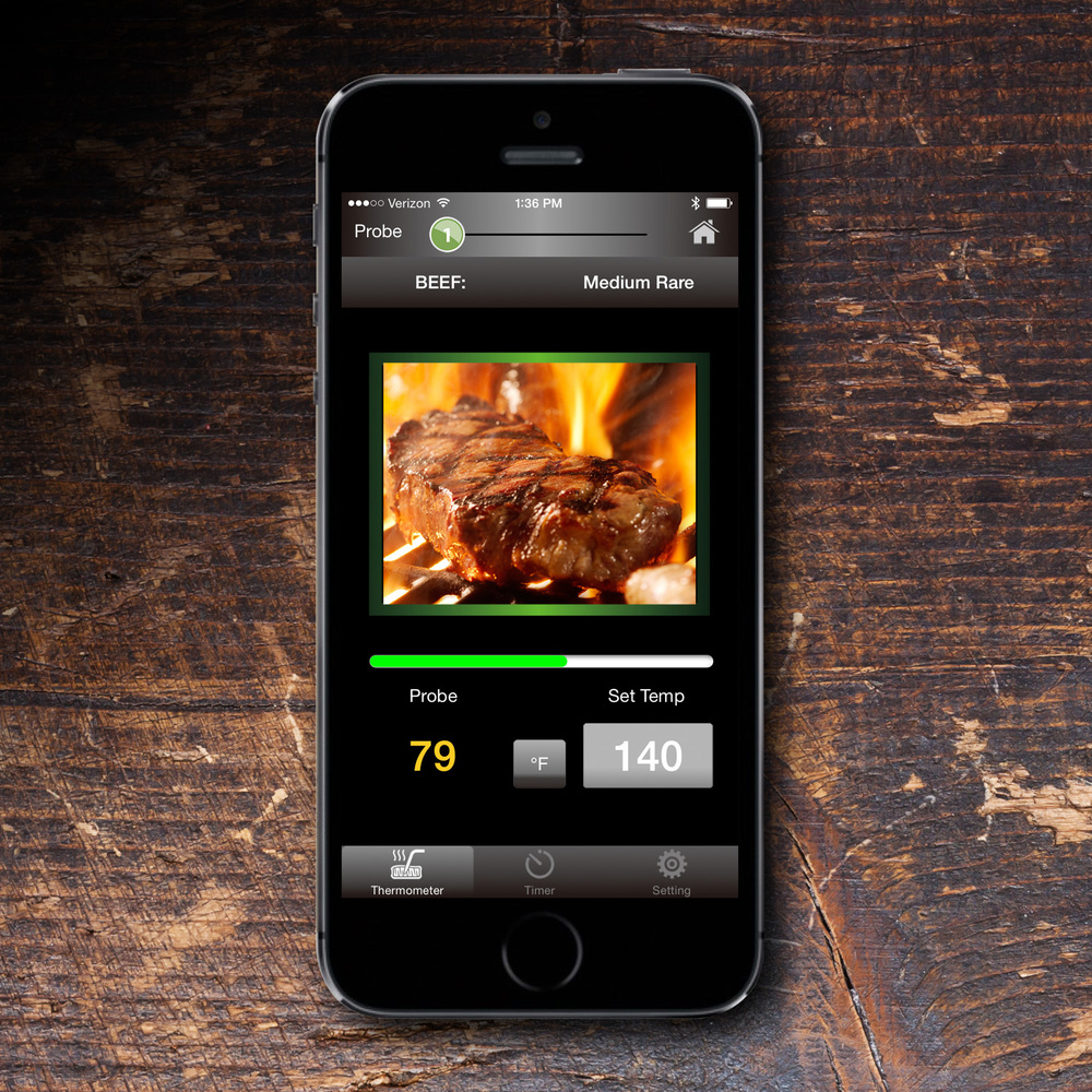 maverick grilling app for barbecuing