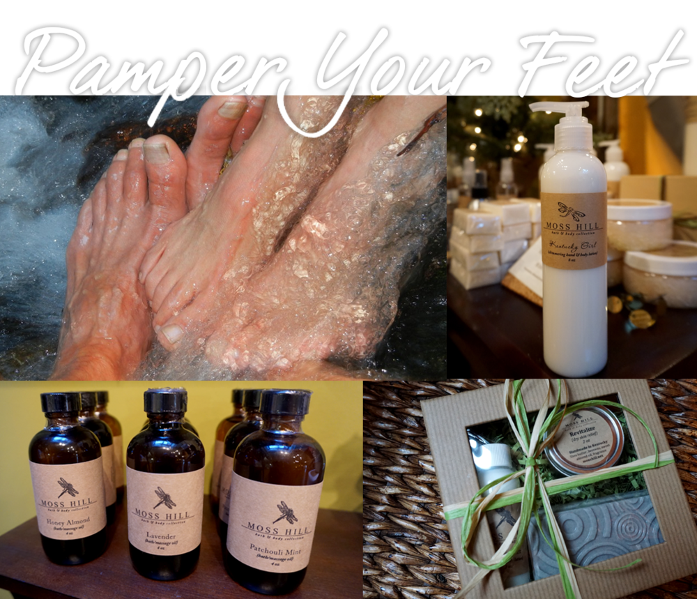 Perfect concoctions to pamper your feet...