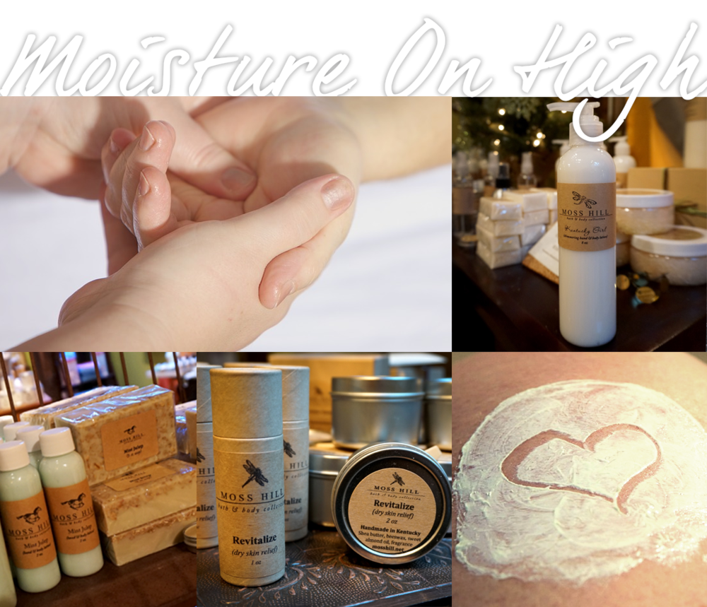 Our intense moisturizing products to help dry skin...