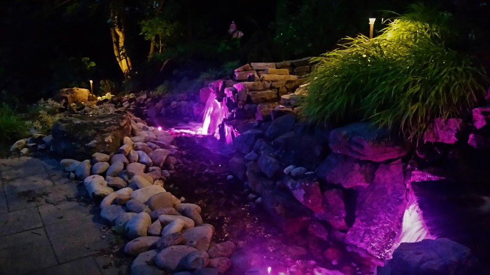 lighting gallery landscape lighting design omaha ne