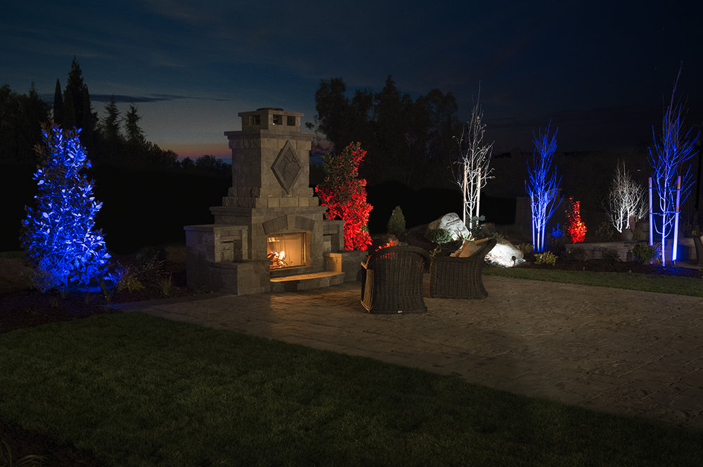 news landscape lighting design omaha ne