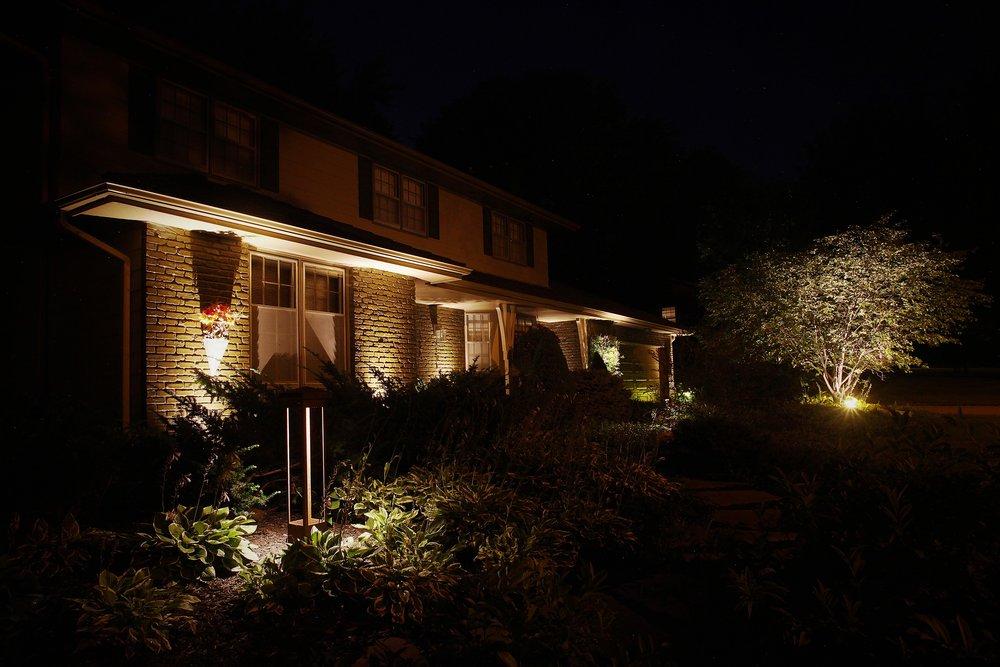 Beautiful Exterior Home Lighting Nebraska.jpg