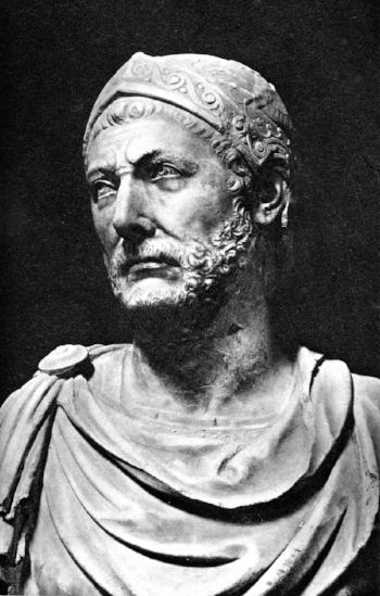 Hannibal Barca from Carthage (Source: Mommsen's ''Römische Geschitchte'' p.265)