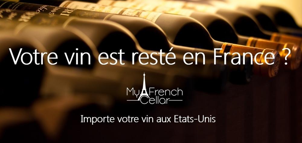 Amoureux de vin Français, vous avez laissée votre cave derrière vous, en France ?
