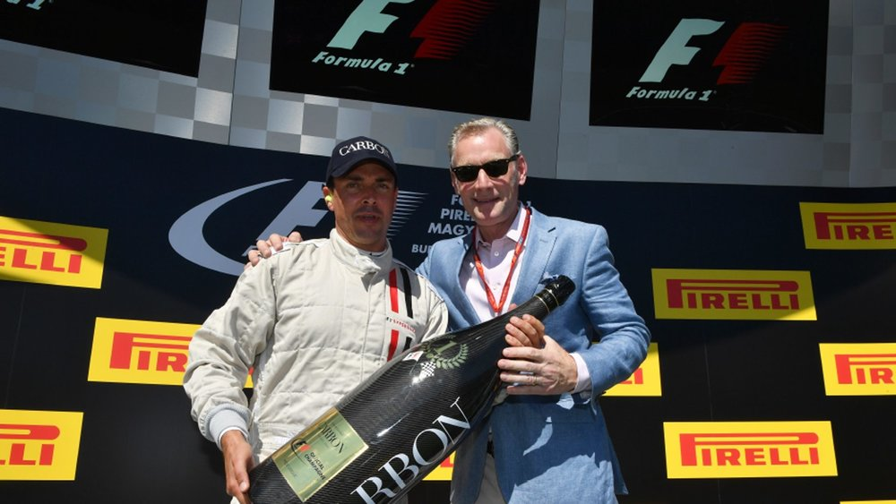"""The partnership between Champagne Carbon and Formula 1 is, for us, the perfect fusion of ideas. ""  Alexandre Mea, CEO of Champagne Carbon (left)"