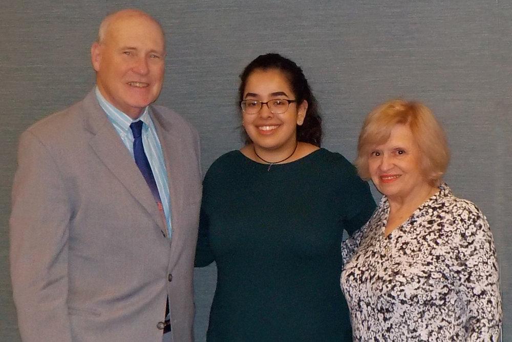 John H. Mark, Sr.                                   Melissa Gallardo                         Angela P. Mark                                         CLICK ON PHOTO TO READ MELISSA'S BLOG