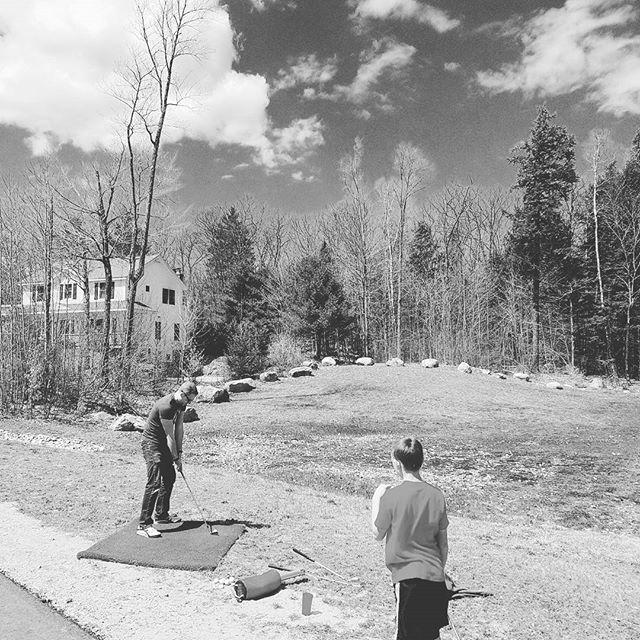 #golf anywhere!