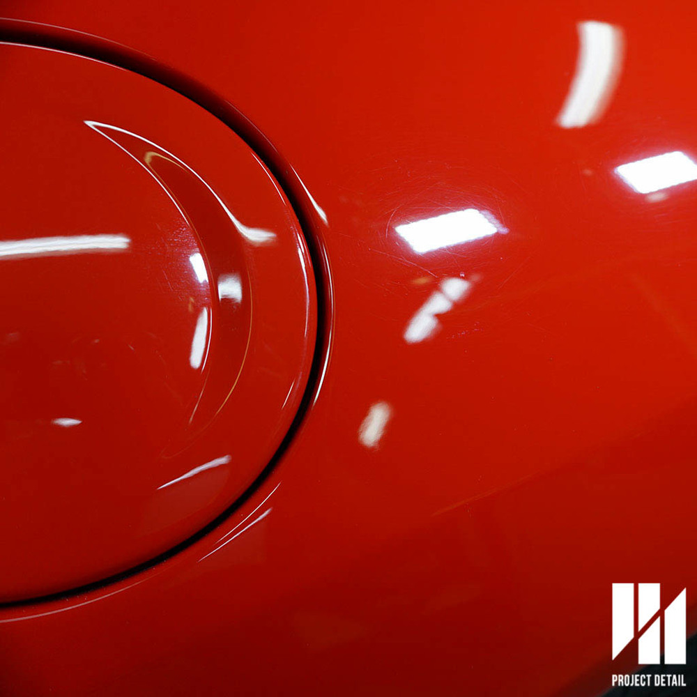 Ferrari paintwork is known for it's softness