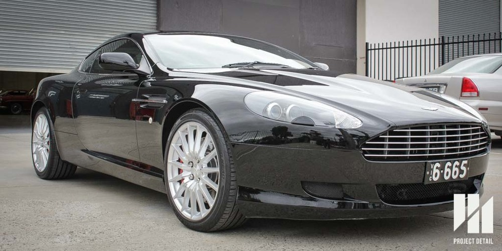 Aston Martin DB9 Paint Correction and Application of CS2 Ceramic Paint Protection Coating