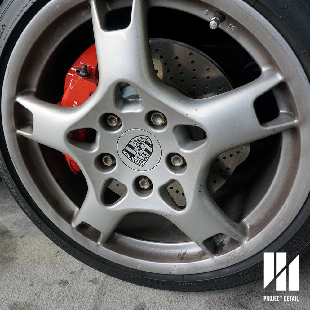 Porsche 911 Wheels -  Before