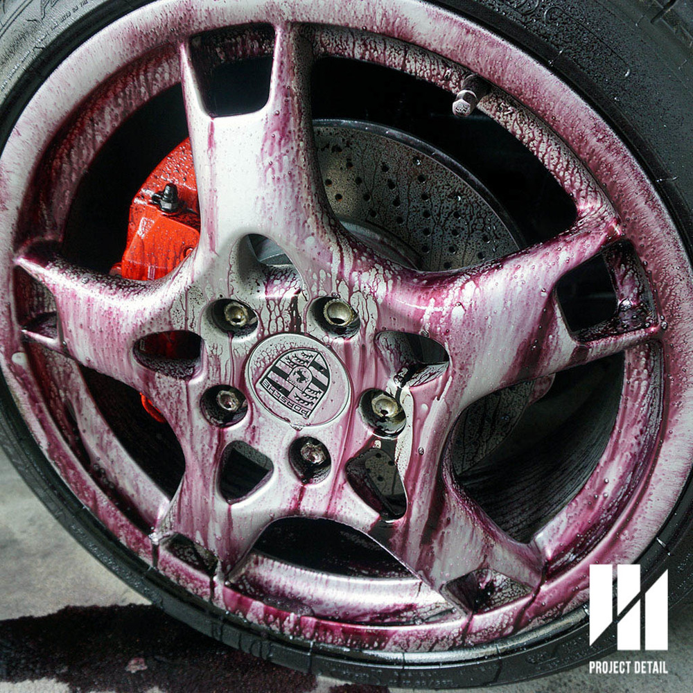 Porsche 911 Wheels - During Iron Removal