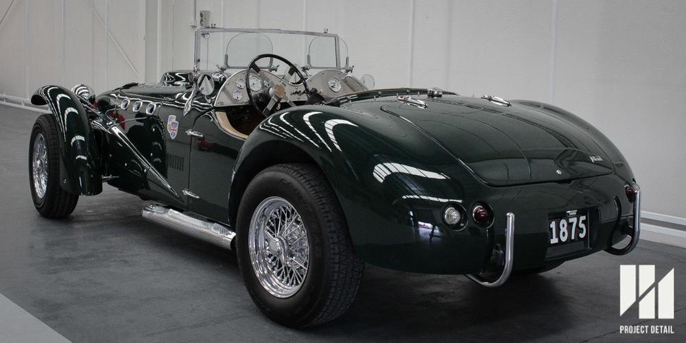 1953 Allard J2X, finished with a Teflon based sealant after a multi-stage Paint Correction.