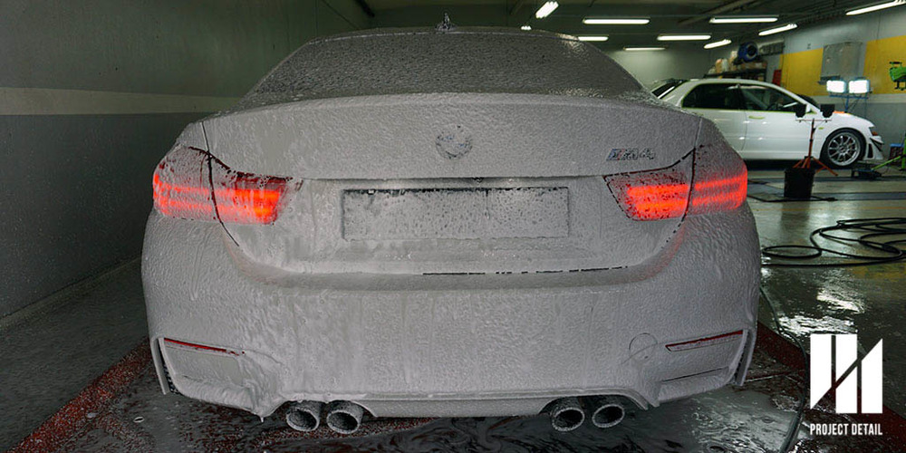 Snow Foam Pre-Wash, as part of our 21-Stage Wash and Decontamination
