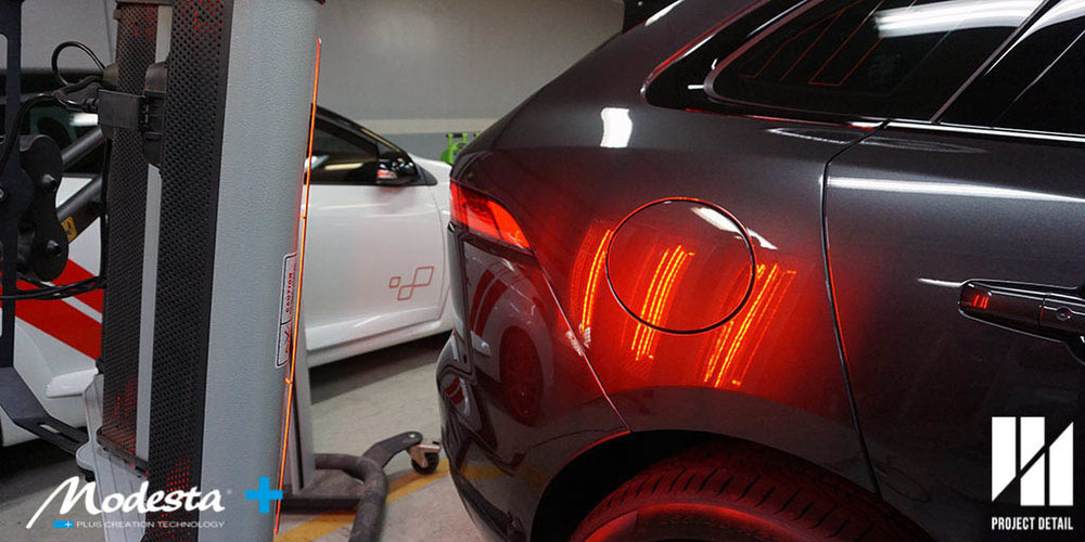 The entire body, every panel require infrared curing to reach full strength.