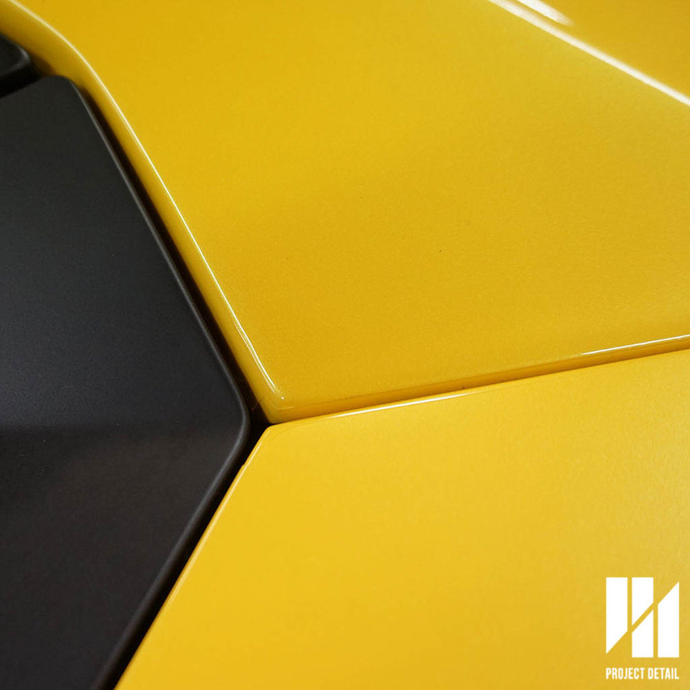 Every panel on this Lamborghini is precision fit, we tuck where possible and go as close to the edge when we cannot.