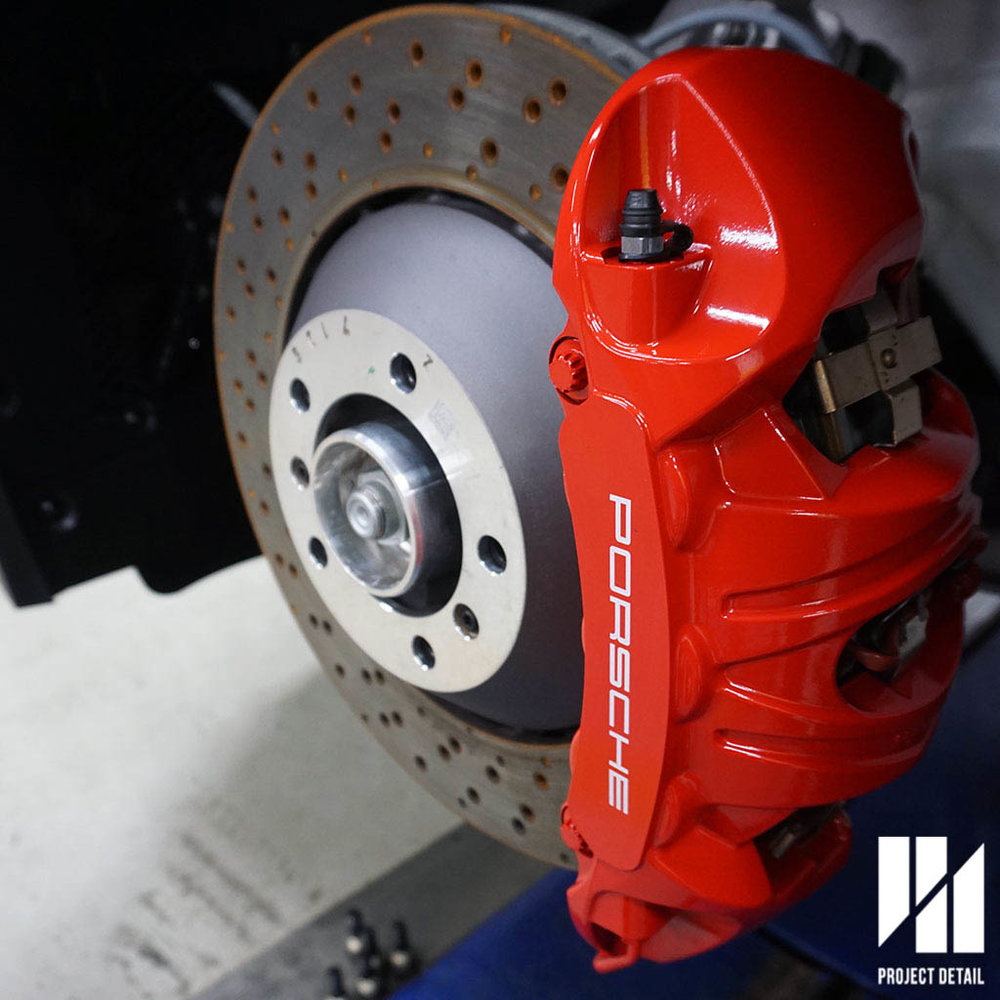 Ceramic Coating Brakes will allow these to stay bright red and be much easier to clean.