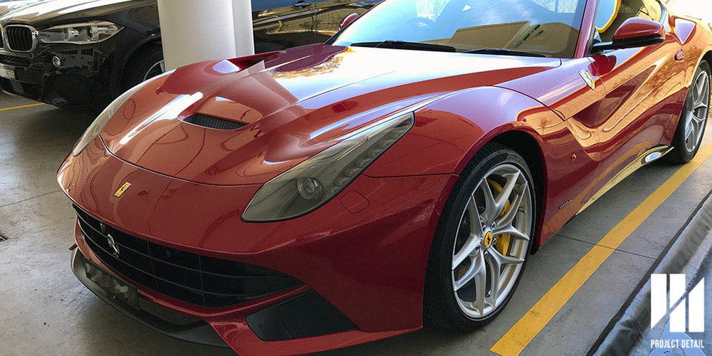 Stunning Ferrari F12 Berlinetta - Fully Wrapped & Protected by Project Detail