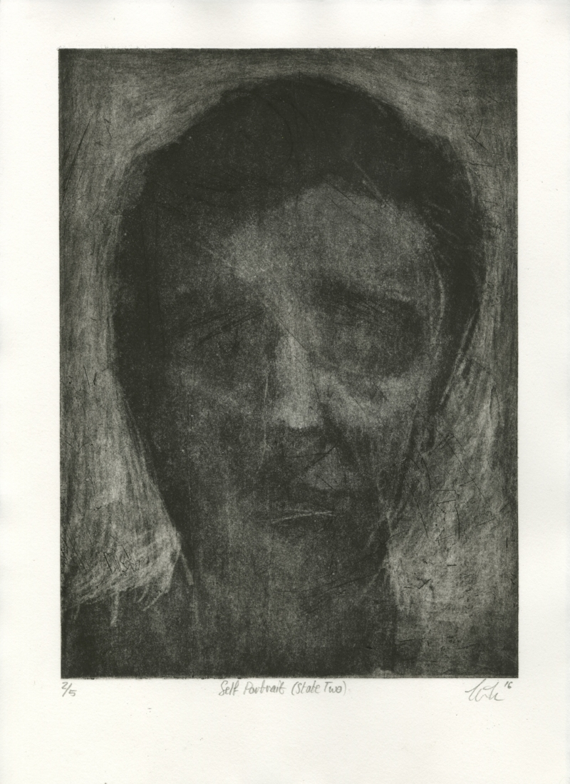 Self-Portrait (State Two) from Accumulation