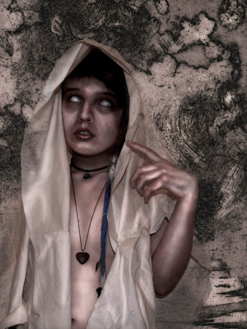 Raven (Self-Portrait) from Undead Portraiture