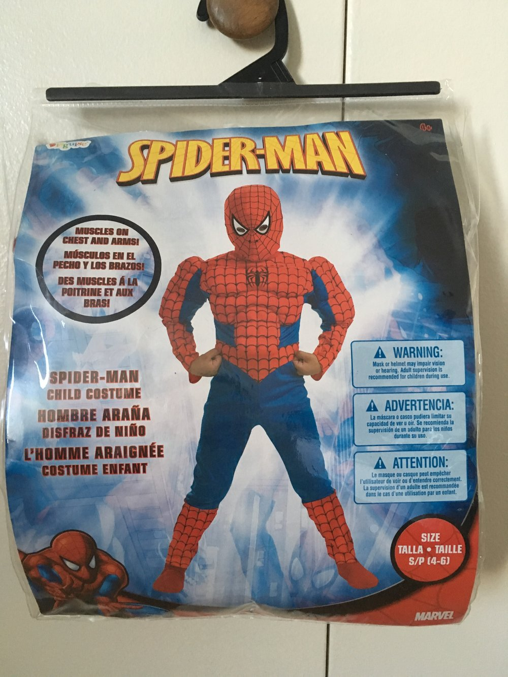 Brand New Spiderman Complete (4-6 yo)                                        $15