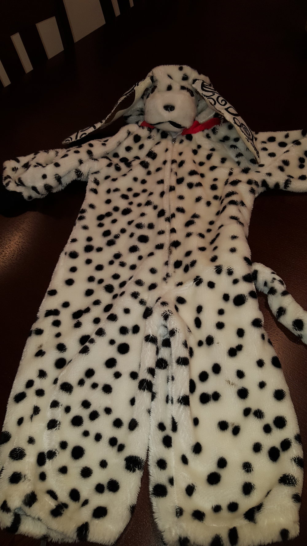 SOLD                Lovely Dalmatian Costume 6-7 yo                                       $ 16