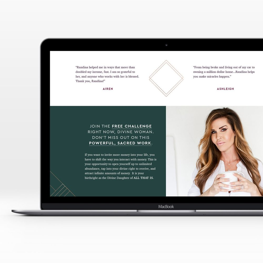 Sales page Design Includes development referrals Promote your next program or product with a custom-designed sales page that impresses your customers.