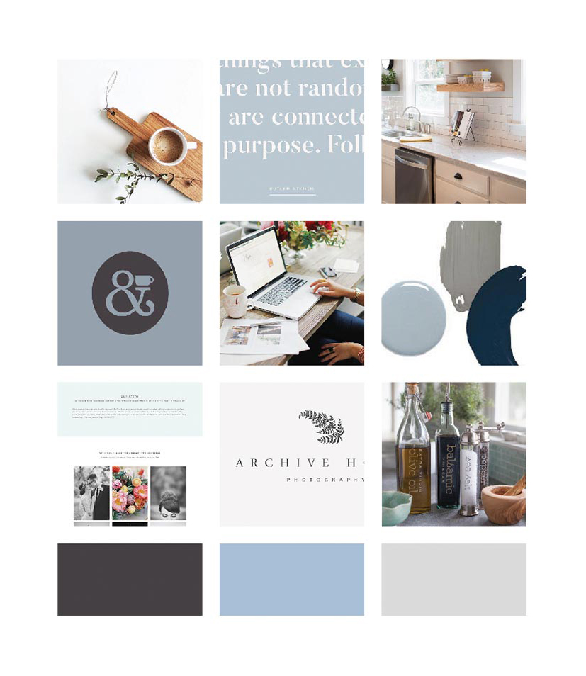 Building My Brand: Moodboard for my business rebrand | Alexa B. Creative & Design