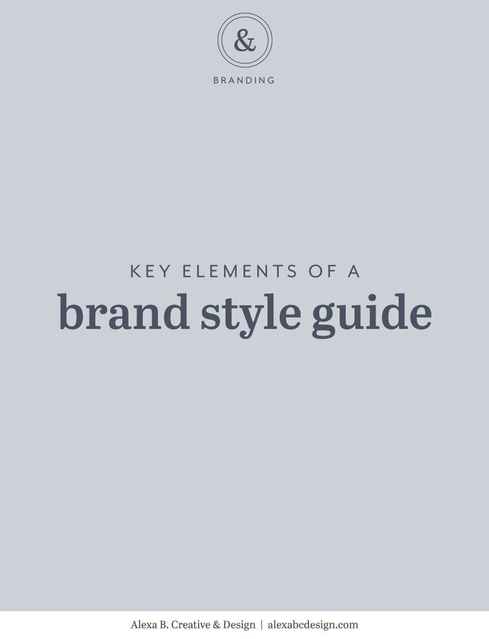 Key elements of a brand style guide to keep your brand consistent