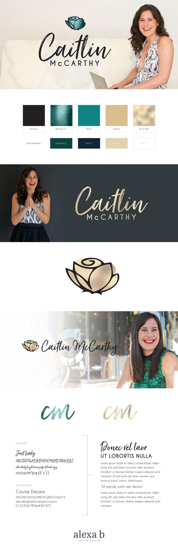 Caitlin McCarthy branding