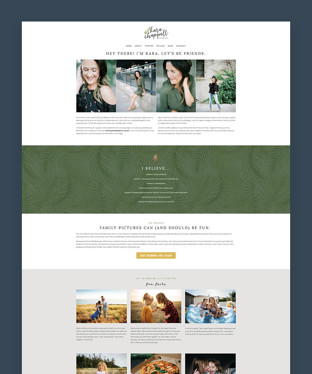 Kara Chappell Whidbey Island Photographer website design.jpg