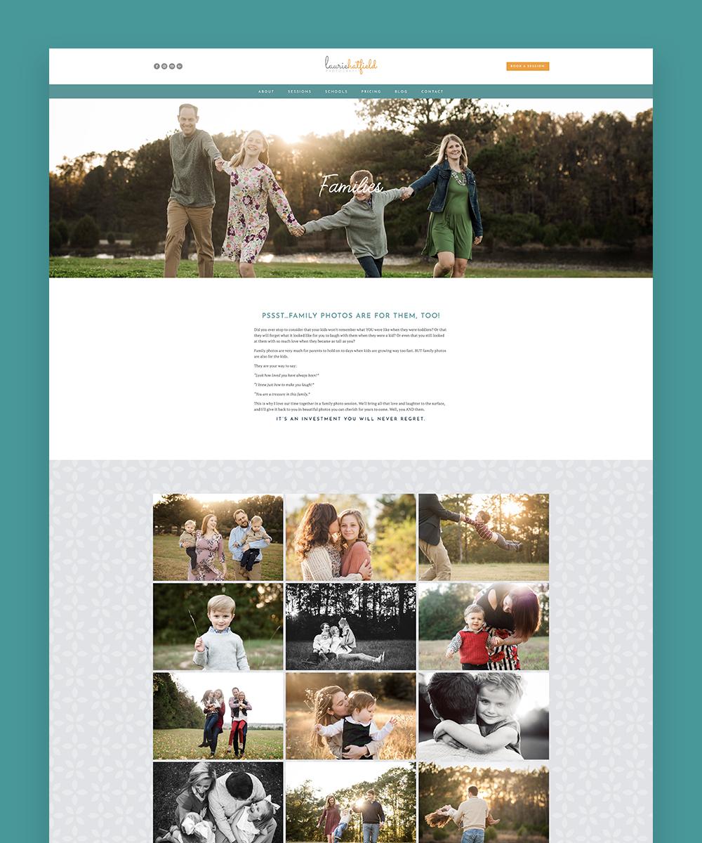 Laurie Hatfield Alabama Family Photographer website design.jpg