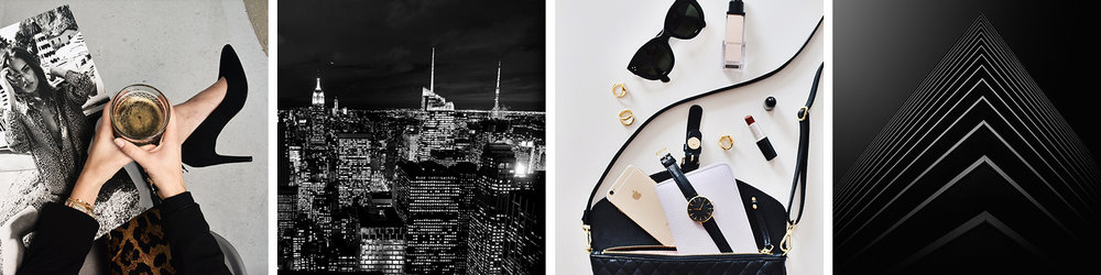 Chic, urban and glam brand inspiration | Where (and How) to Find Inspiration for Your Brand