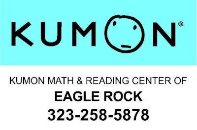 Kumon Math & Reading Center of Eagle Rock  323-258-5878 2352 Colorado Blvd. Los Angeles, CA   90041  For more than 50 years, Kumon's after-school academic enrichment program has helped children achieve success worldwide. We strive to instill in children the desire to achieve and the motivation to learn on their own. Whether your child is seeking enrichment, needs help catching up or is just beginning his or her academic career, Kumon is designed to help him or her develop a love of learning.