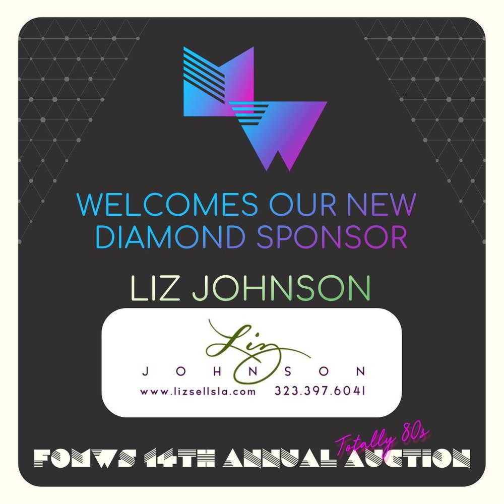 - We would like to welcome Liz Johnson as our very first Diamond Sponsor! The Diamond sponsorship level is brand new this year and comes with a donation of $4000 and above.Liz Johnson and Edith Reyna shared the following message:Honored to support fabulous Mt Washington school and the amazing parents, teachers, staff and KIDS who sustain it daily!!Thank you, Liz and Edith, for your constant support of our school.