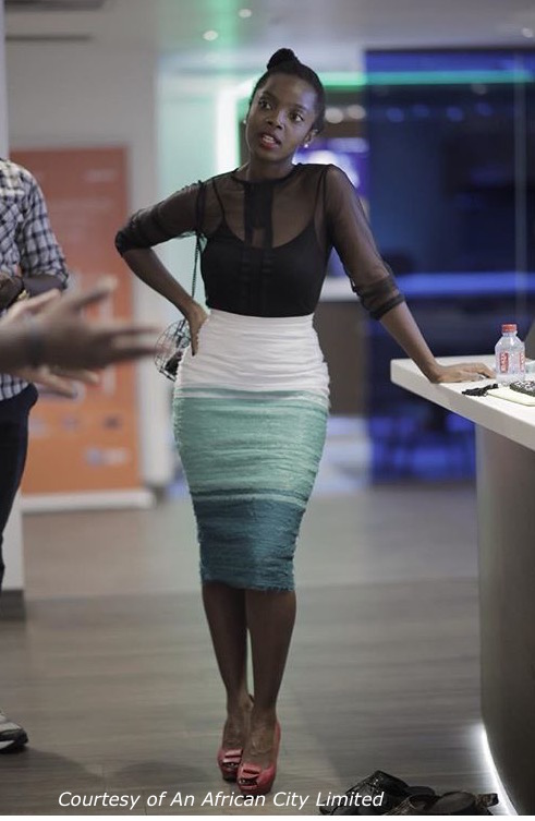 Top by Totally Ethnik Skirt by Mina Evans Shoes by Mo Saique