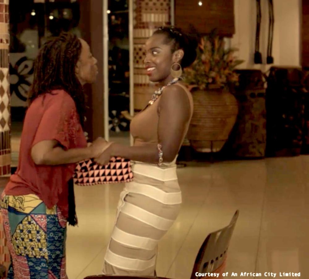 Skirt  Tutuwaa  Earrings  Awa  Neckace & Bracelet  Nkapo  Purse  Anago
