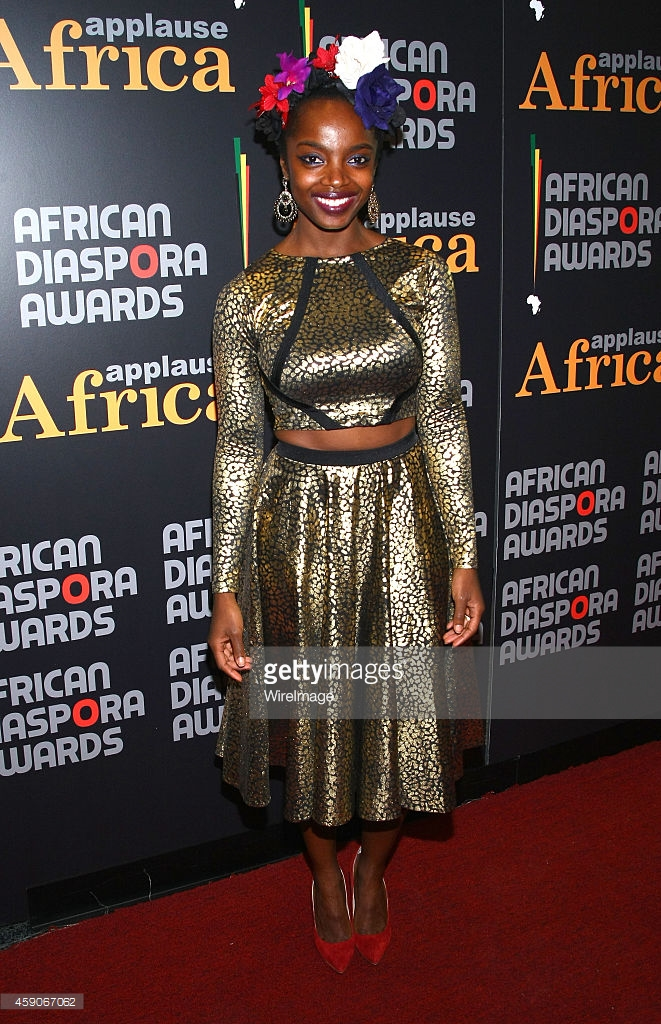 At the African Diaspora Awards where the cover of Applause Africa Magazine revealed MaameYaa as the cover girl