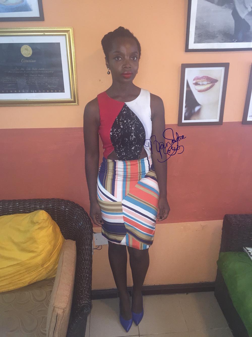 Dress  Wana Sambo  Shoes  Mo Saique